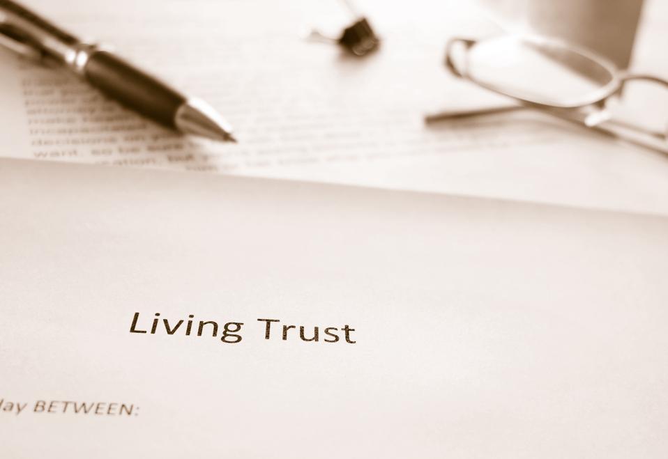 Living Trust legal documents