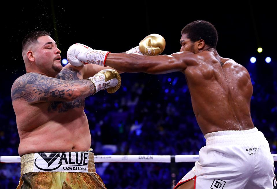 Anthony Joshua Wins By Unanimous Decision, Regaining Four Championship Belts In 12-Round Tactical Duel