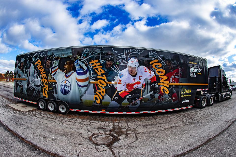 Willie O'Ree Appearances Highlight The NHL's 2nd Annual Black Hockey History Tour