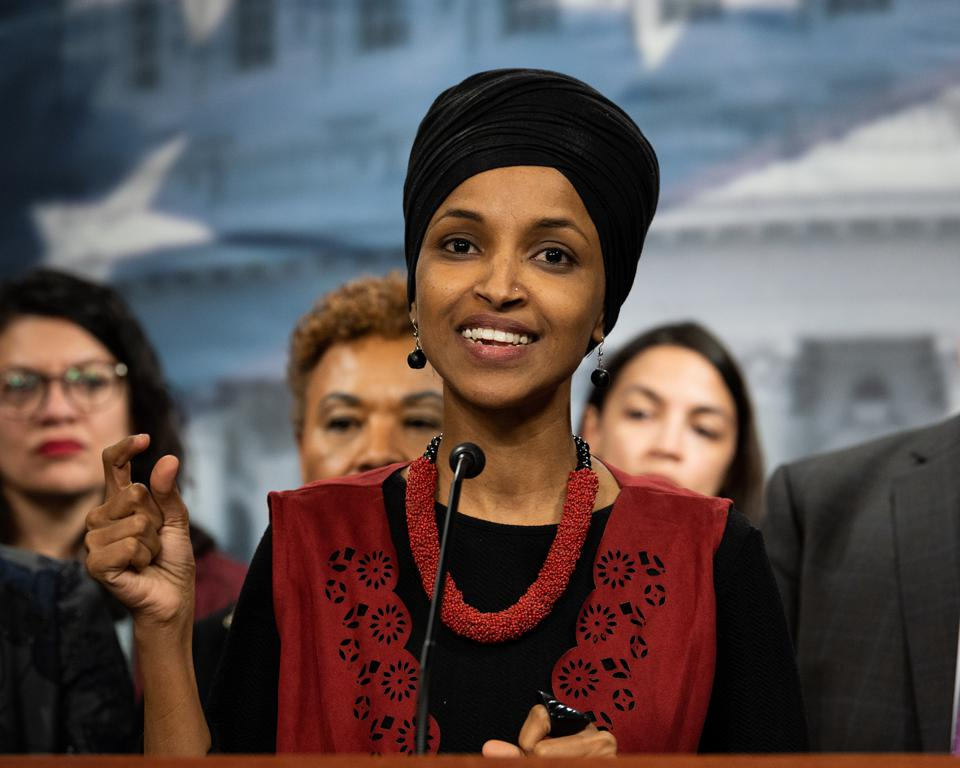 Rep. Ilhan Omar And U.S. Poet Laureate Joy Harjo To Headline BookExpo Adult Book & Author Breakfast