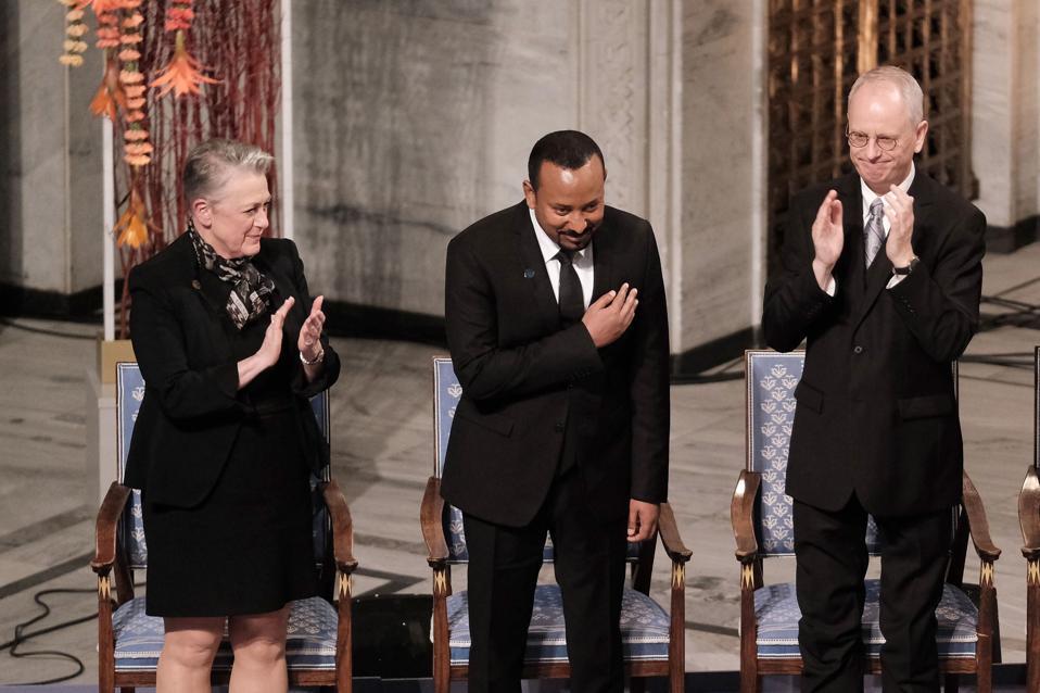Nobel Peace Prize Award Ceremony 2019
