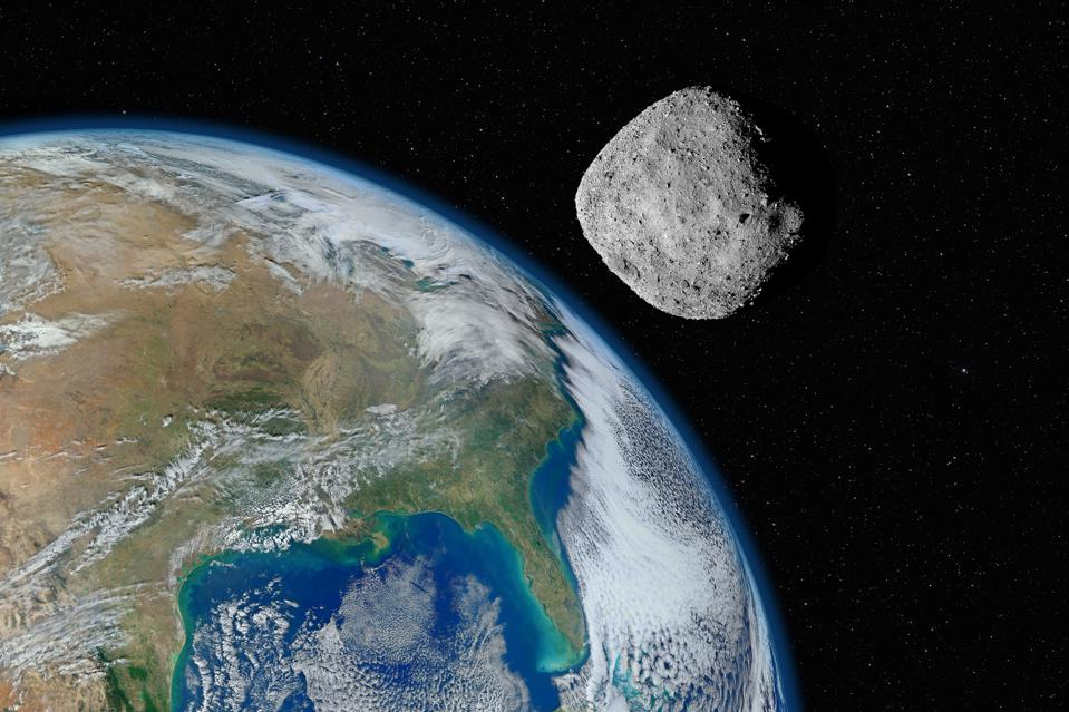 Bennu approaching Earth ... let's hope not!