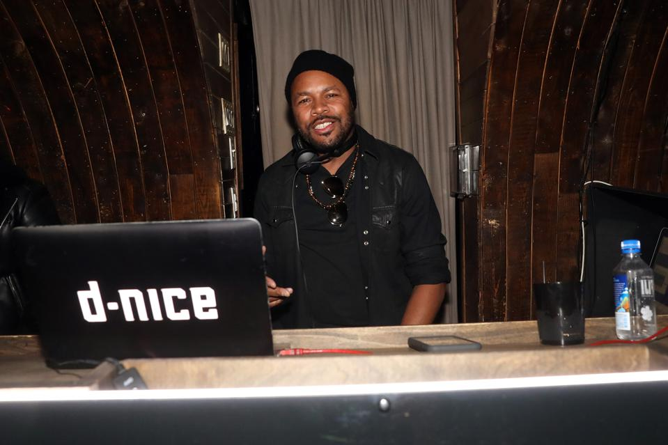 Dj D-Nice hosted Club Quarantine on Instagram Live that turned into a memorable moment in black history and culture.