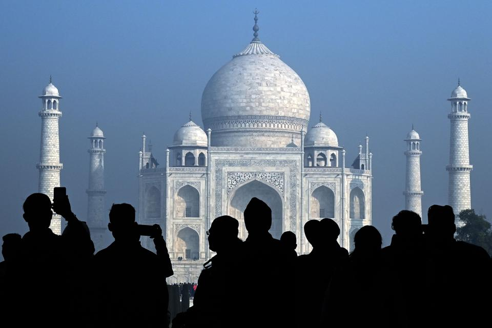 INDIA-TOURISM-TAJ MAHAL