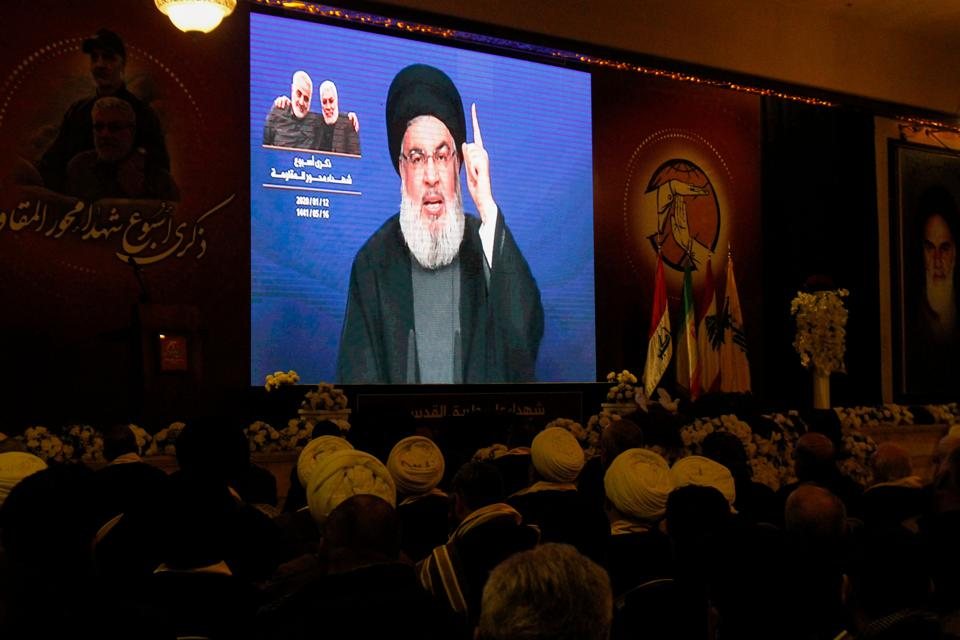 LEBANON-POLITICS-IRAQ-IRAN-UNREST-US-HEZBOLLAH