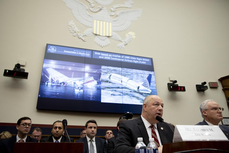 House Transportation Committee Holds Hearing On Oversight Of Boeing 737 Max Certification