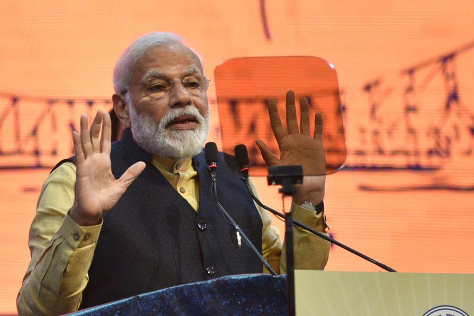 Prime Minister Narendra Modi Attends 150th Anniversary Celebrations Of Kolkata Port Trust