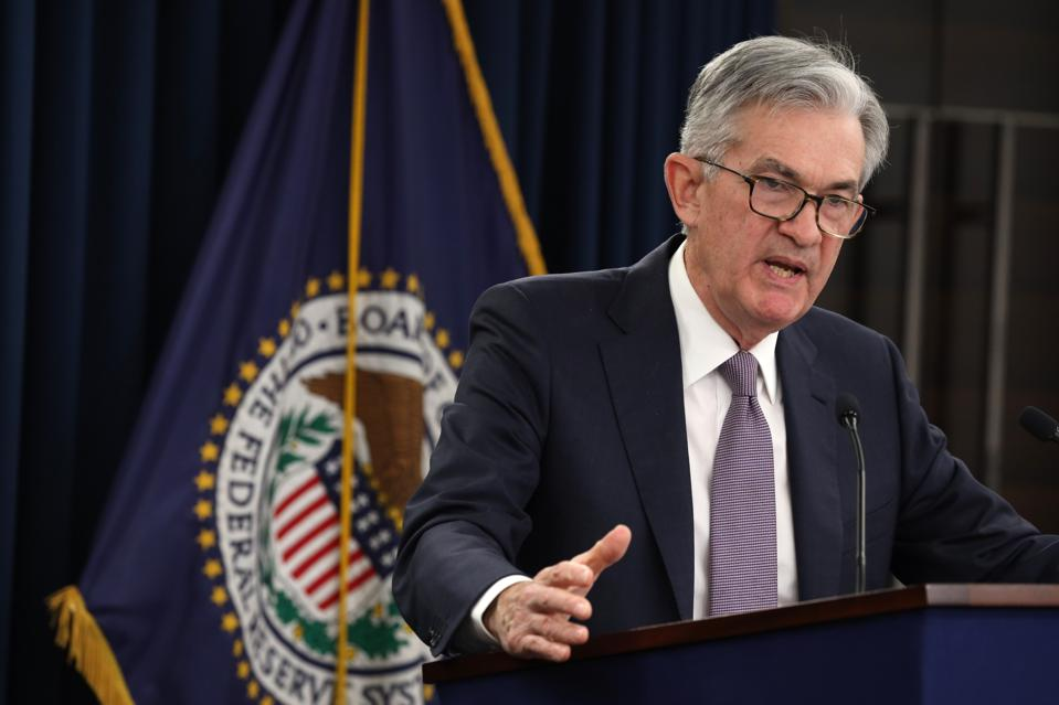 Federal Reserve Chair Jerome Powell Holds News Conference On Interest Rates