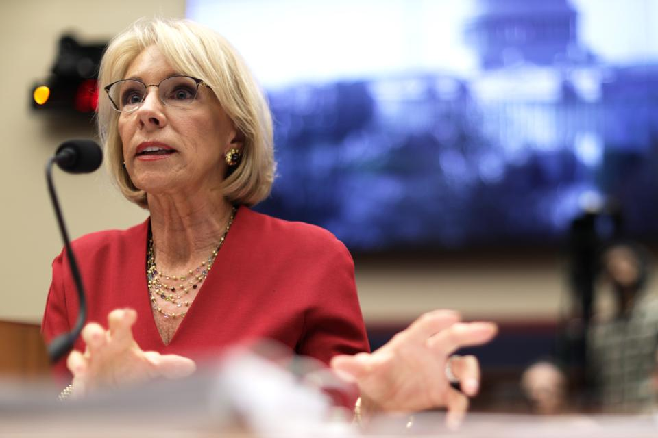 Why Charter Schoolers Are Feuding With Betsy DeVos