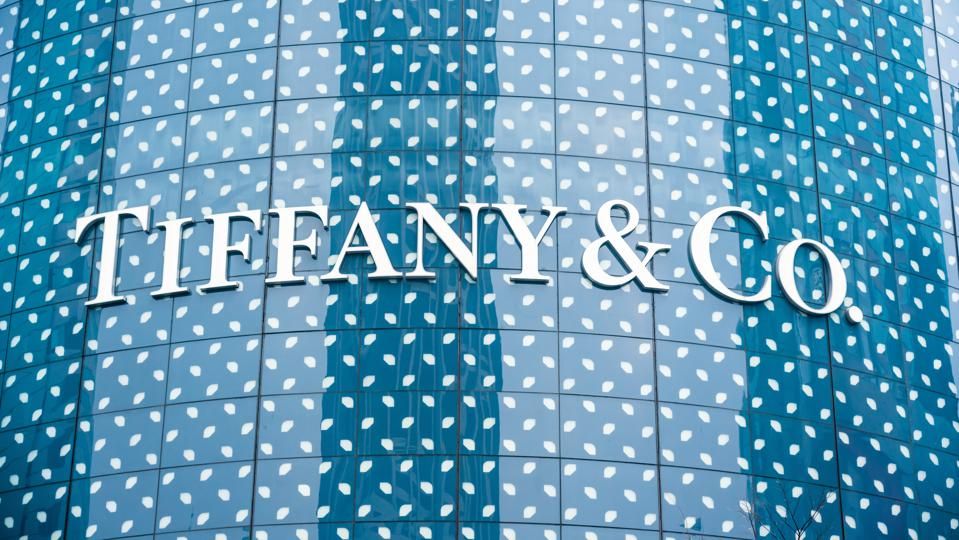 American luxury jewelry and specialty retailer Tiffany store in Shanghai.