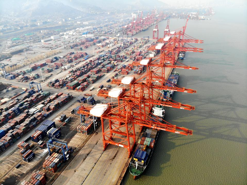 China's Total Import And Export Value Of Goods Trade Increased By 3.4% Year On Year