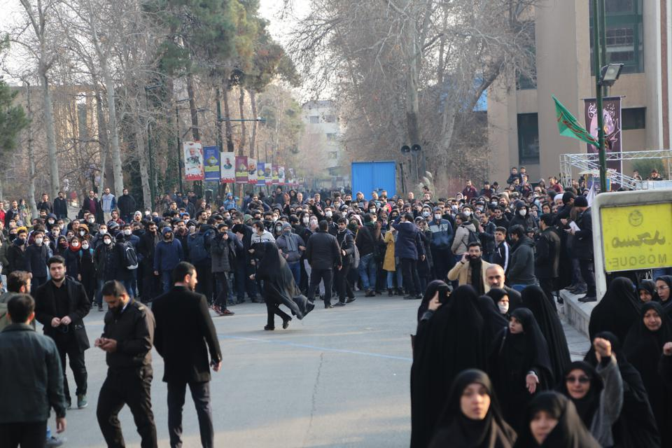 Anti-govt demonstrations continue in Iran