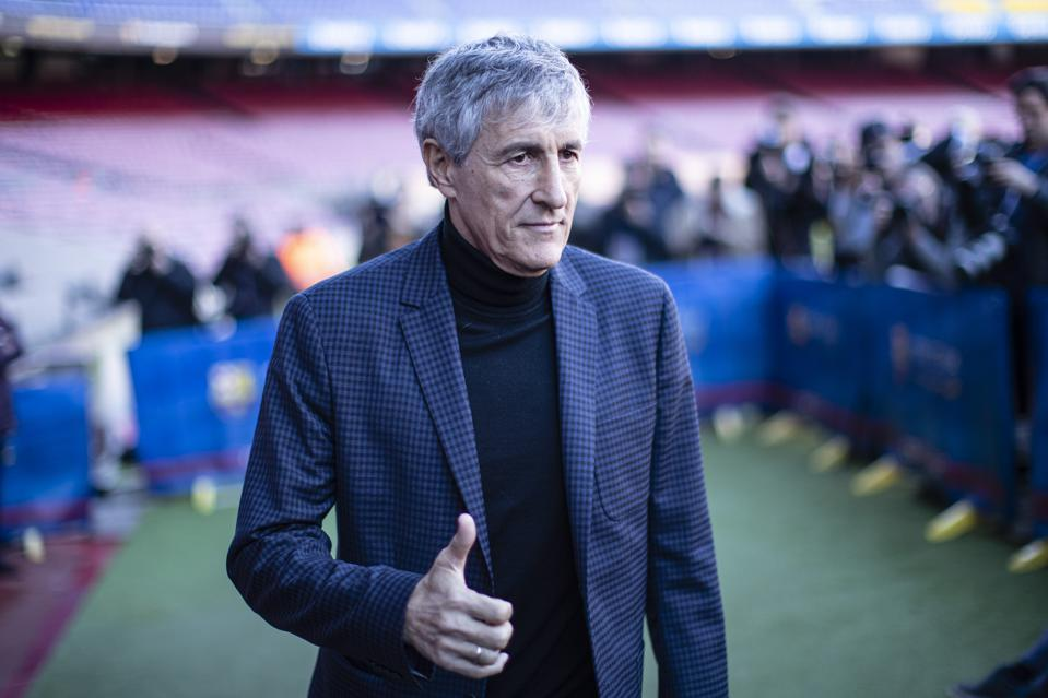 Barcelona Coach Setien Speaks On Granada, Messi, Suarez, Arthur And Preference To Win Or Play Well