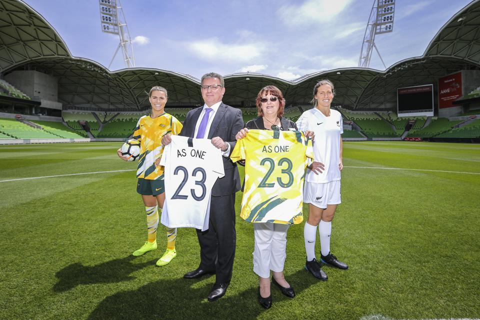 Announcement of Australia & New Zealand's Joint Bid to host the FIFA Women's 2023 World Cup