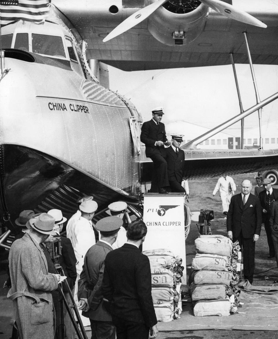 China Clipper Mail Plane