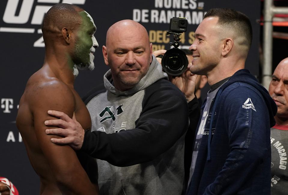 UFC 245 Usman v Covington: Weigh-Ins