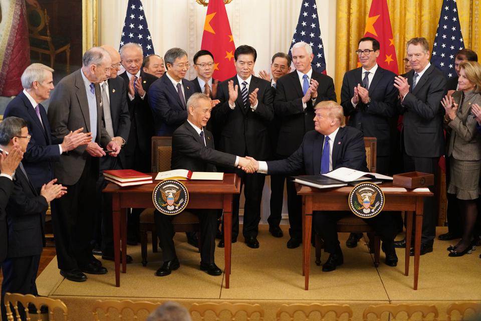 U.S.-China Trade Deal: A $40 Trillion Trap On Trump's Wall Street Buddies?