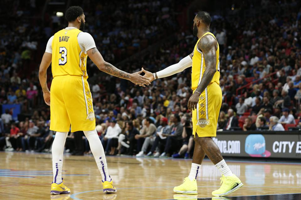 Lakers Highlights >> Lebron James Anthony Davis Expected To Play As Lakers