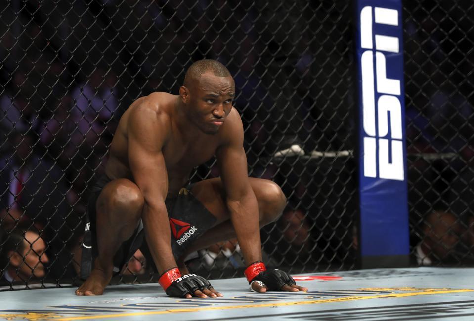Kamaru Usman faces Jorge Masvidal tonight at UFC 251.
