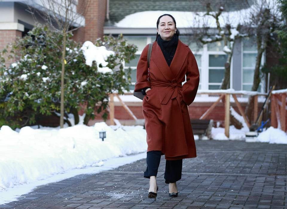 Huawei CFO Meng Wanzhou Appears In Court Before Start Of Extradition Hearing