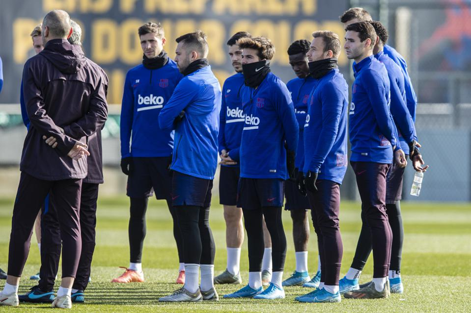 FC Barcelona has sent out mixed signals to the team's young players