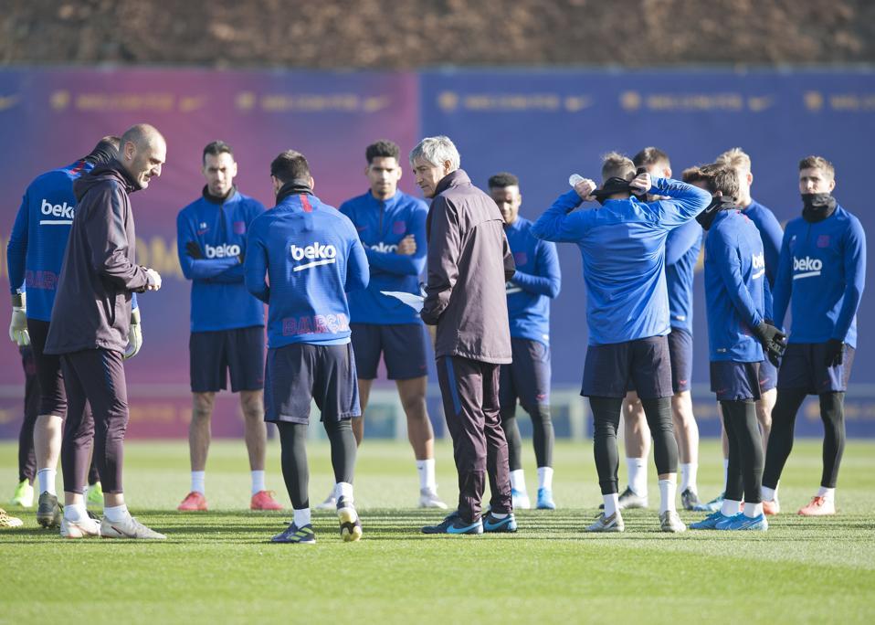 Griezmann As A 9 As Arthur Returns For Setien Era Debut An Fc Barcelona Versus Granada Preview