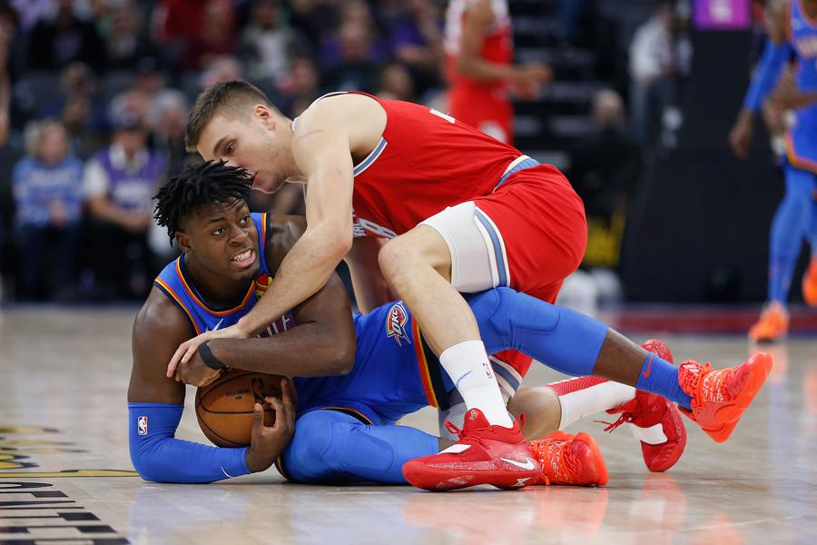 Oklahoma City Standout Two-Way Player Luguentz Dort Is Due For A Full-Time NBA Contract From The Thunder