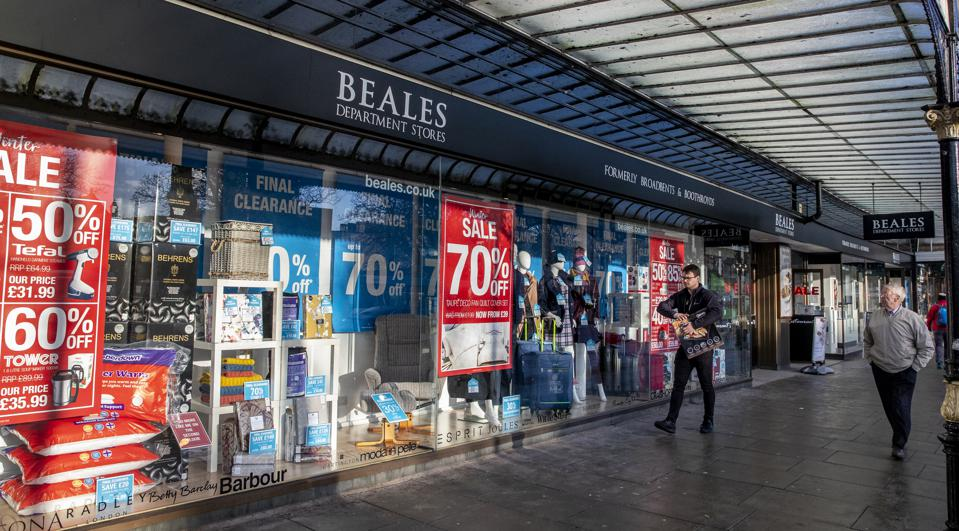 Beales, Bournemouth And Business Rates, This Time It Is Personal