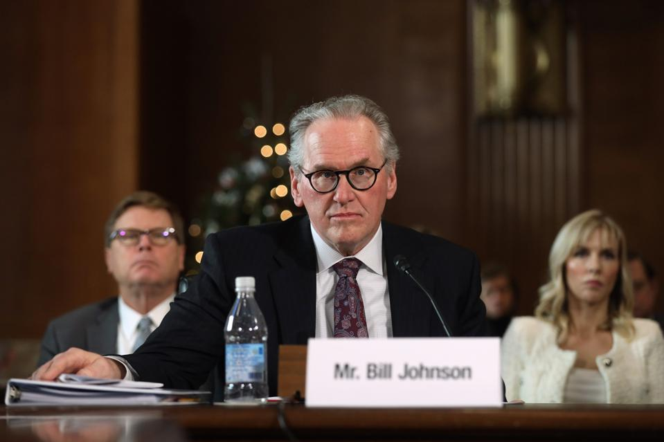 PG&E CEO Testifies Before Senate Energy Committee On Wildfire Impact On Electrical Grids
