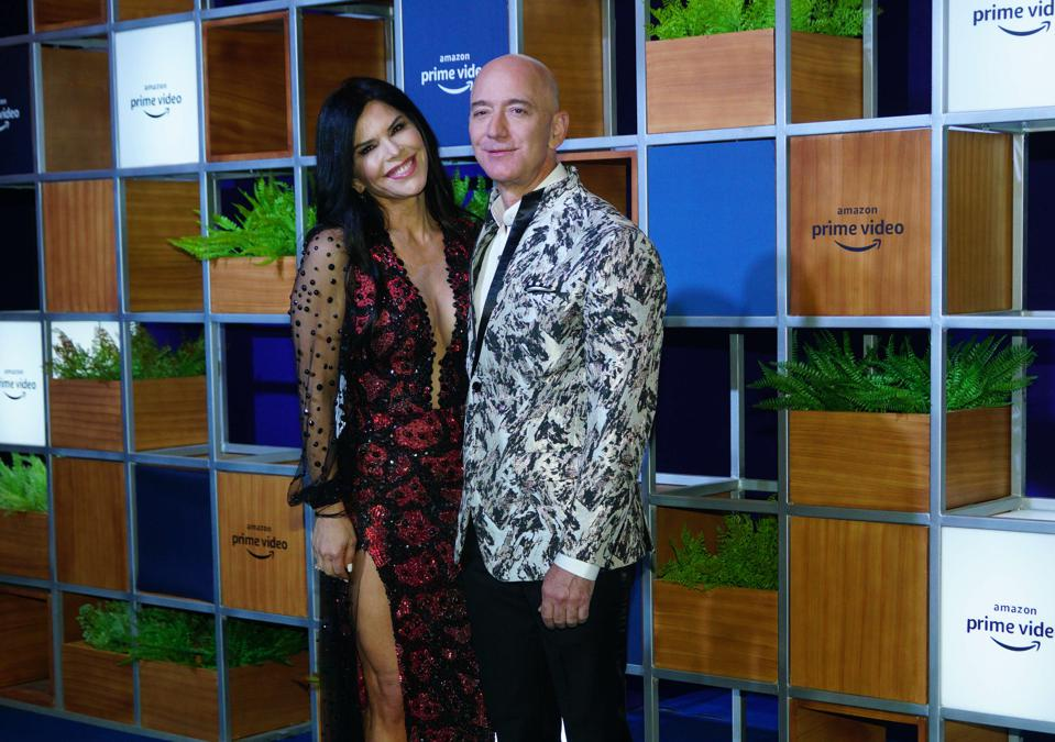 Amazon CEO and President Jeffrey P Bezos Visits Mumbai