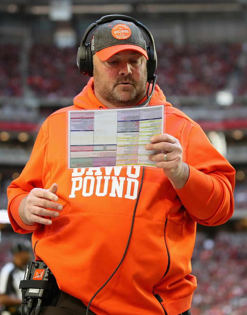 Former head coach Freddie Kitchens of the Cleveland Browns.