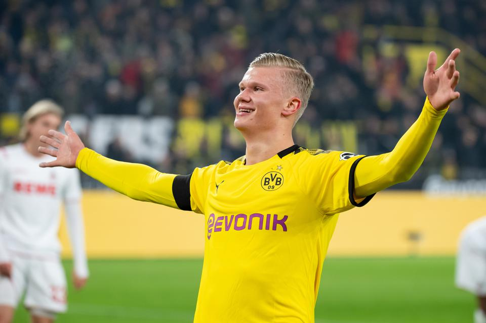 Erling Haaland Borussia Dortmund s Million Gem Lights Up Bundesliga Matchday