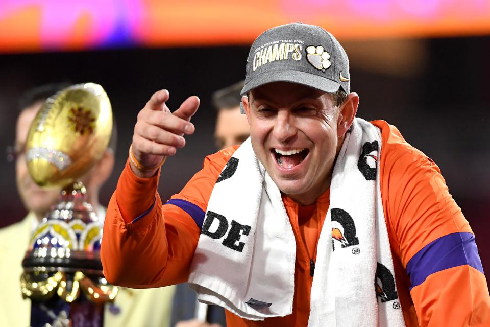 No Matter What Point Spread Says, Dabo Swinney And Clemson ...