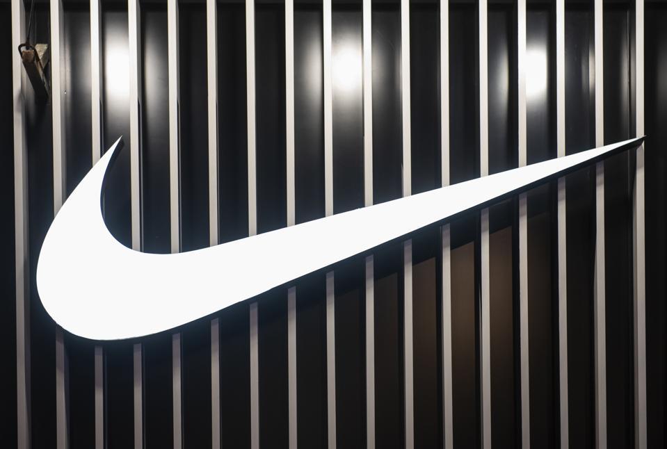American multinational sport clothing brand Nike logo seen...