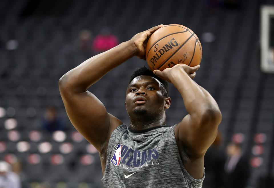Predicting Zion Williamson S New Orleans Pelicans 2020 Debut