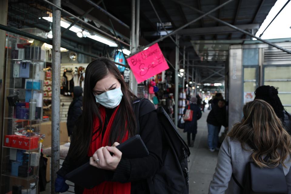 Les New-Yorkais s'inquiètent du coronavirus