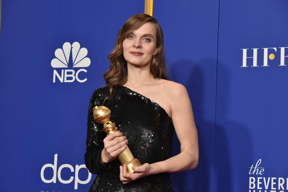 The 77th Golden Globes Awards - Press Room