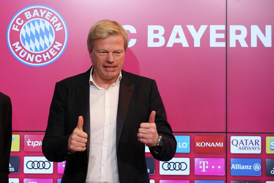 FC Bayern Muenchen Presents New Board Member Oliver Kahn