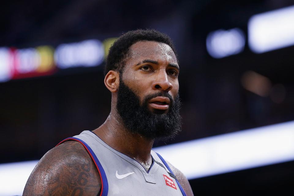Detroit Pistons v Golden State Warriors Andre Drummond