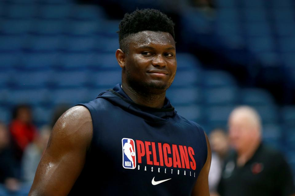 Zion Williamson S Nba Debut Is On The Horizon But He Will Play Very Limited Minutes