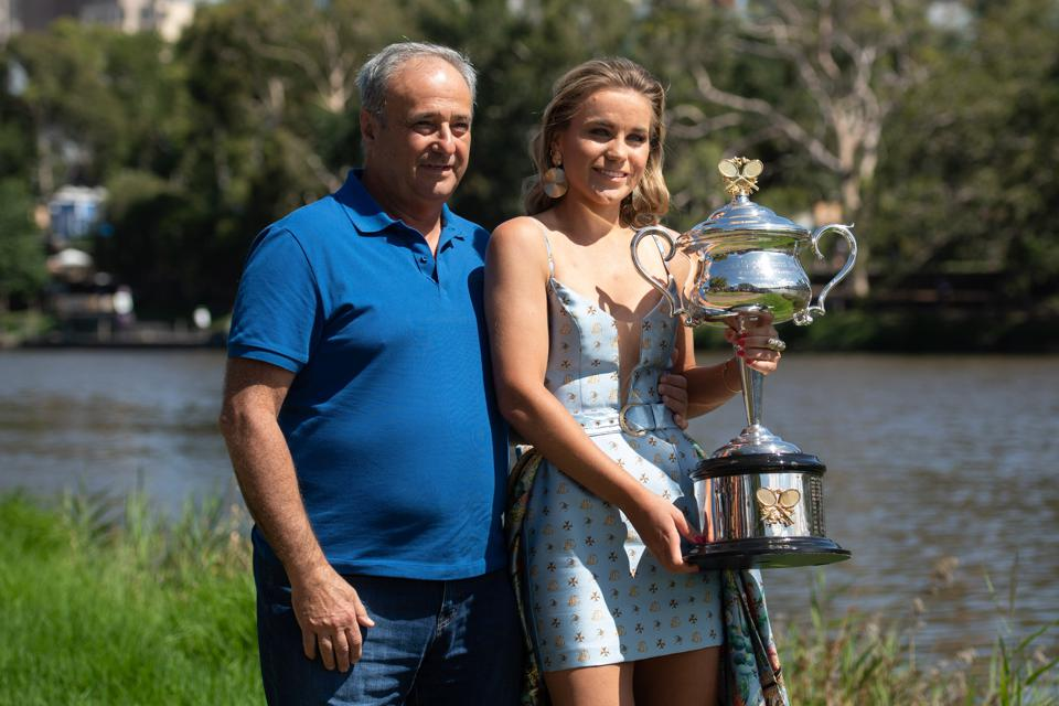 Sofia Kenin Alex Kenin Fed Cup Australian Open