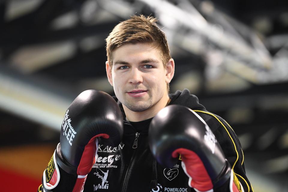 Professional boxer Vincent Feigenbutz