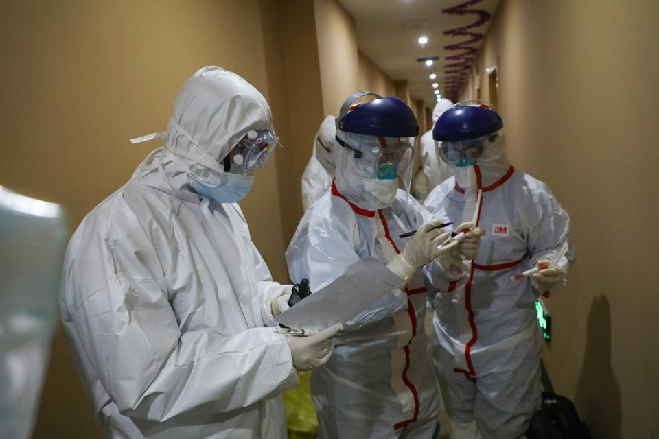 CHINA WUHAN CORONAVIRUS NUCLEIC ACID TEST