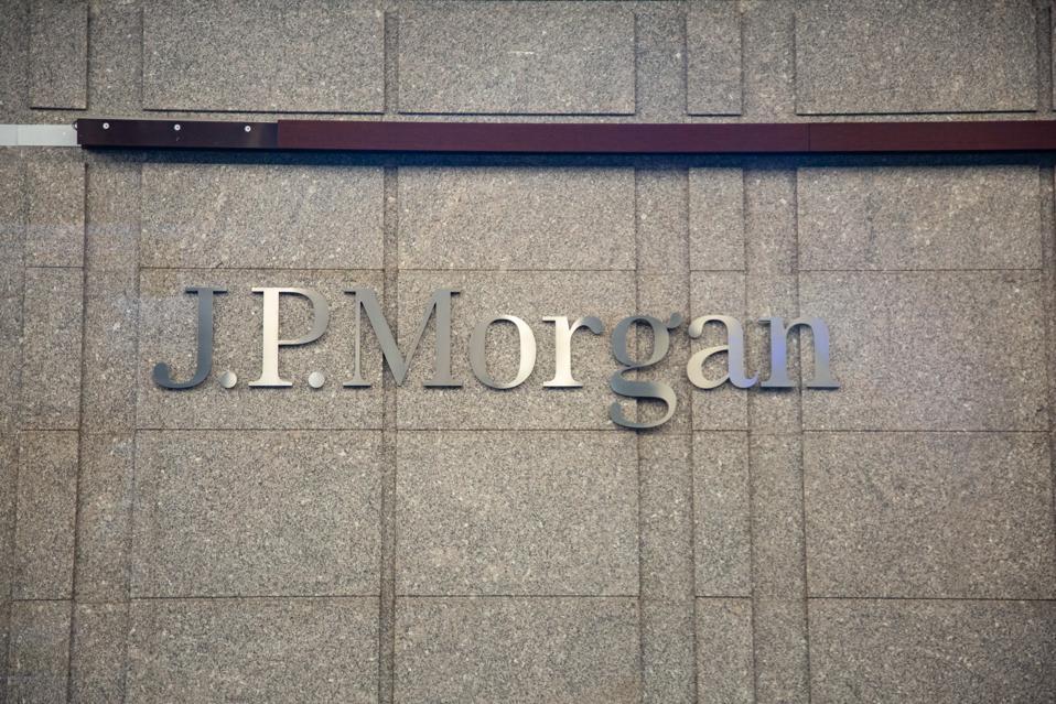 Logo JP Morgan Di NY