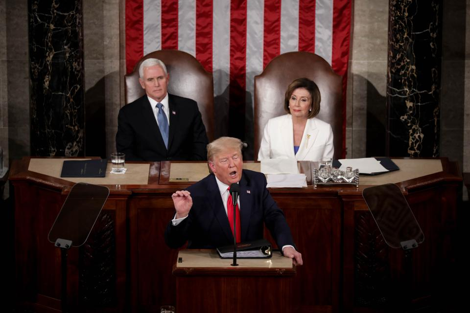 President Trump delivers the State of the Union address