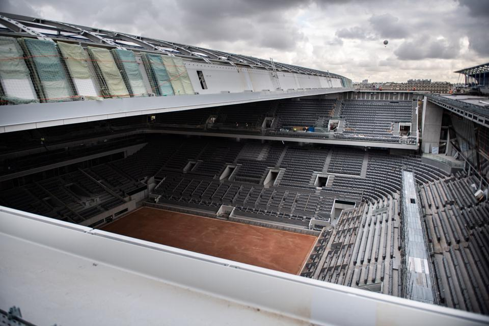 TENNIS-FRANCE-PHILIPPE CHATRIER-ROOF