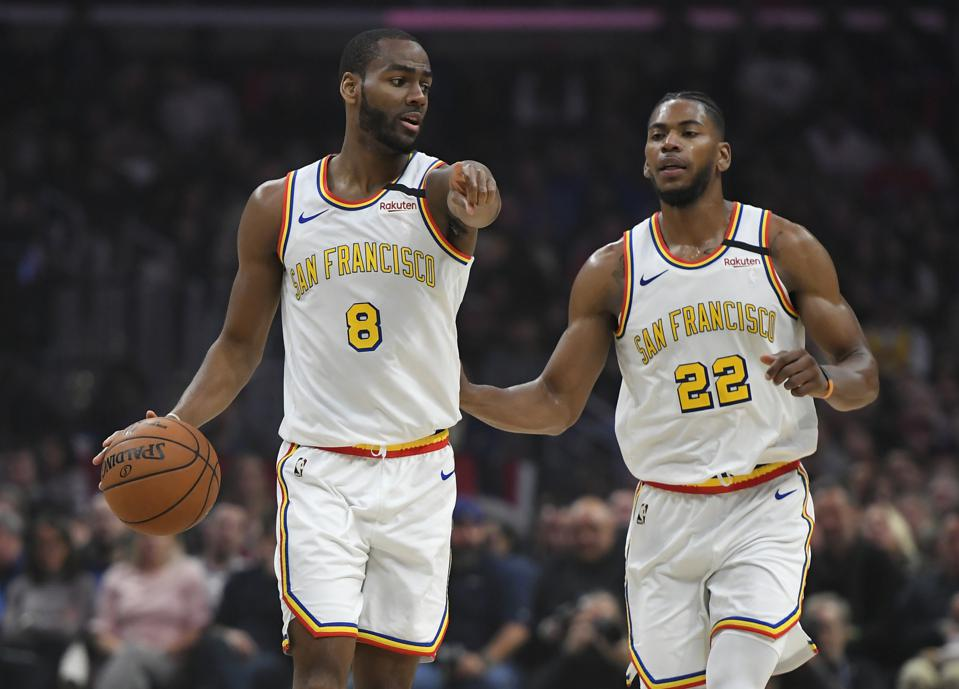Glenn Robinson III and Alec Burks are no longer with the Golden State Warriors.