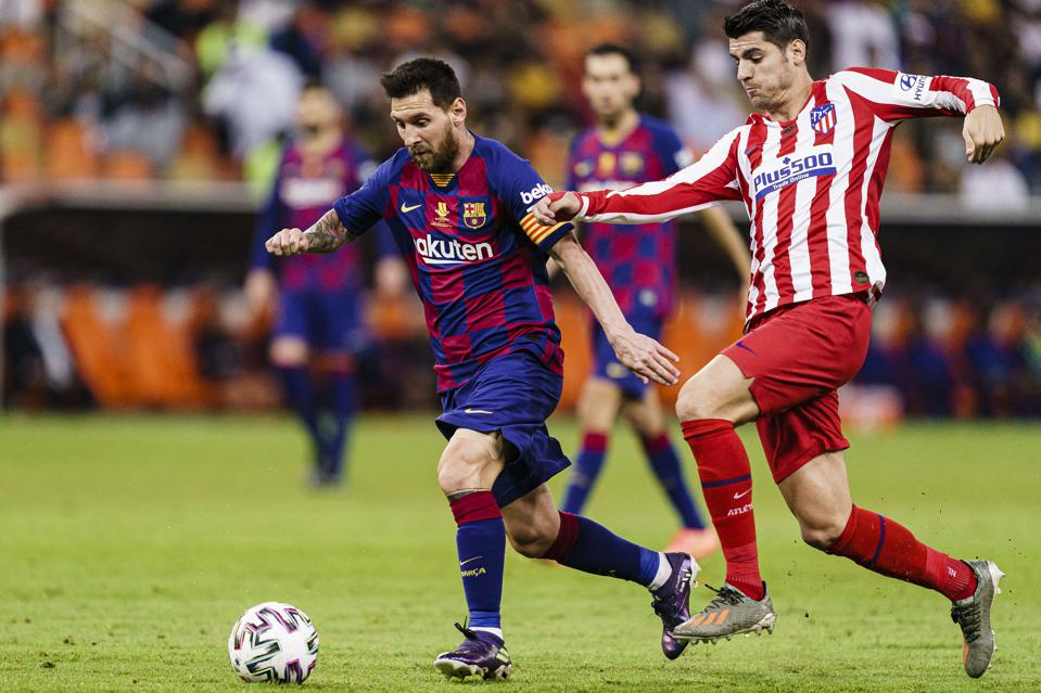 FC Barcelona must win against Atletico Madrid to stay in the La Liga title race.