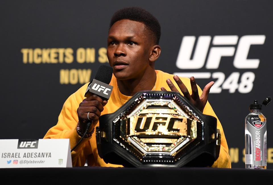 Israel Adesanya was not impressed with Jon Jones at UFC 247.