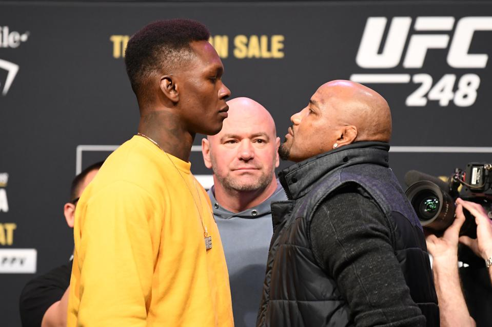 Watch: UFC 248 Press Conference Video Live Stream